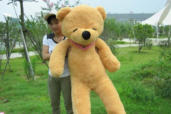 Manufacturers selling stuffed teddy bear is 180 cm Squinting bear doll shop wholesale agents(China (Mainland))