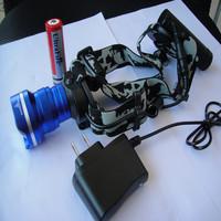 CREE XM-L U2 LED 1800Lm Rechargeable Headlamp Headlight Light Head Lamp 2x 18650
