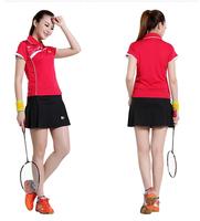 Super deal high quality women's tennis dresses short sleeve shirts skorts summer outdoor sportswear