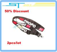 50% discount Clearance JR PROPO LOGO Neck Strap RC Transmitter Tx Metal Hook Hook HANG BAND Neckstrap 2pcs/lot boy toy