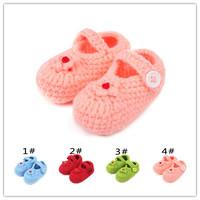 2014 all seasons special offer time-limited baby shoes girls girls yarn first walker shape children's handmade toddler children