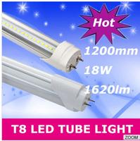 120PCS LED Tube T8 1200mm 18W AC85V-265V LED Lamp LED Light 2835 SMD lights & lighting Cold White/Warm White Living Room Bedroom