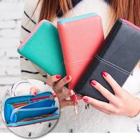 Desigual women wallets card holder coin case bolsas long purse iphone clutch wallet/purse designer brand handbag WFCCL01243