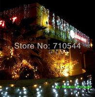 Free DHL Exrpess 10pcs 12MX2M / 39*6.6ft,768 Led Curtain Lights String Wedding Christmas Lights