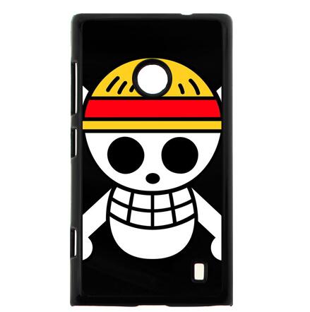 Free Shipping Cheap Phone Case Straw Hat Logo Hard Plastic Cover for Nokia Lumia 520(China (Mainland))