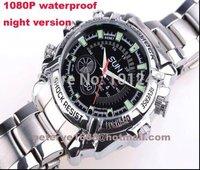 dhl free shipping 8 16 32 G Real 1080p Waterproof High resolution Full 1080P night vision watch camera Waterproof  avp902Qs