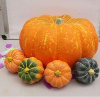 38cm Big size funny Halloween Christmas supplies high artificial foam pumpkins vegetables home market decoration