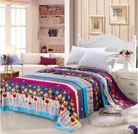 Free shipping mantas e cobertores cobertor de casal brand bedclothes cobertor coral fleece baby  blanket on the bed 150*200 017