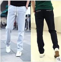 New 2014 Men Cotton Pants Outdoors Sweatpants Sport Harem Pants Autumn Baggy Pants Joggers Free Shipping