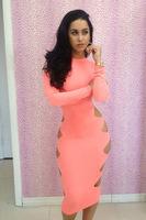 Free shipping Sexy Cut WholesaleDress fashion Sexy hip dress CD 023