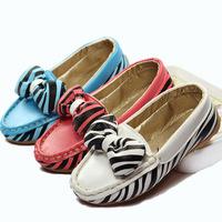 2014 new Peas children shoes Korean stripe girls casual shoes tendon