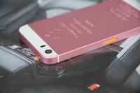 ZG Romance Pink Limited Edition Housing for iPhone 5S Replacement Metal Back Battery Cover Case for iphone 5s