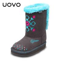 2014 Winter Children Snow Boots,Print Waterproof Warm Boots Size 26-35 Child Zipper Warm Boots Free Shipping