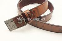 Letter JOOP Metal Buckle Fashion Men Belts Male Waist PU Leather Jean belts Pin Buckle Smooth Casual