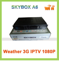 SKYBOX A6 Full HD Sunplus1506 free to air satellite decoders digital satellite receiver iptv 3G set top box wholesale