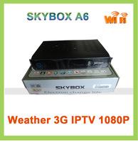 SKYBOX A6 Full HD Sunplus1506 free to air satellite decoders digital satellite receiver iptv 3G set top box wholesale