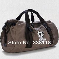 Men and women travel bags,football or basketball up kits,canvas material,large capacity sports bags,4 colors,diagonal & Handbags