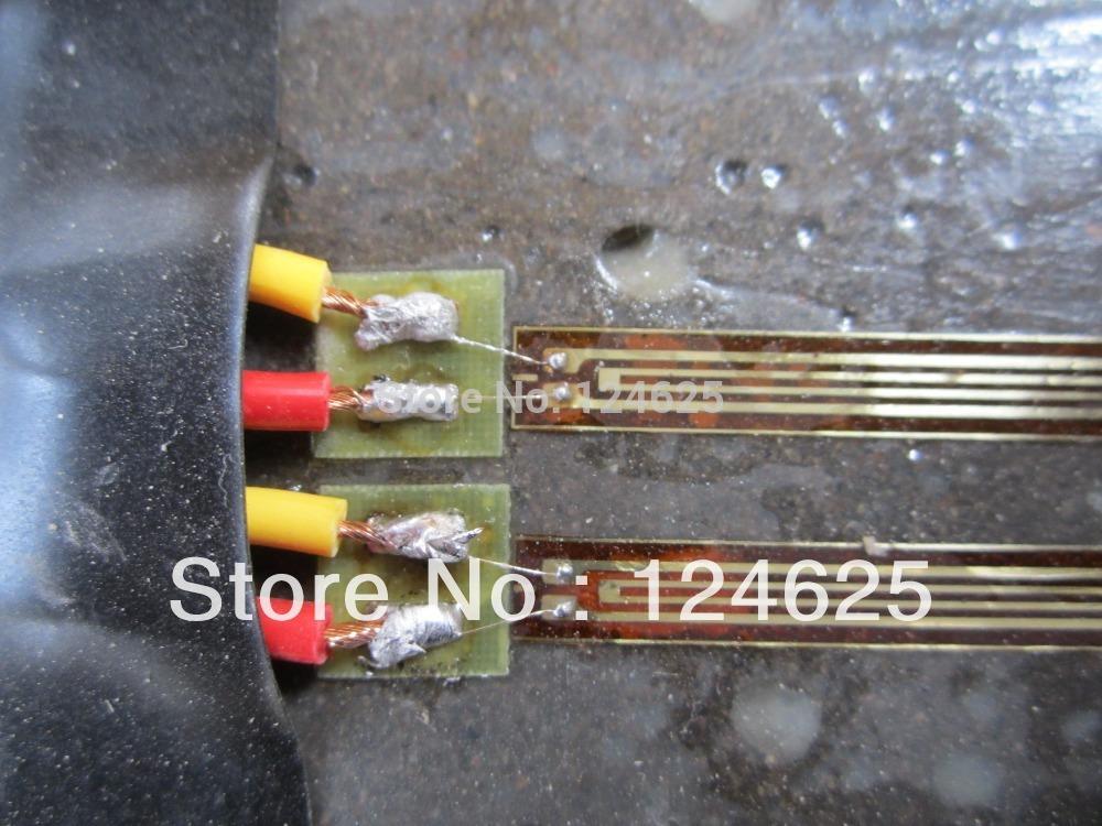 Strain Gauge Sensor 6pcs The High Precision Resistive Strain Gauge Gage Concrete Strain Gages