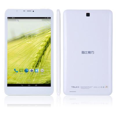 8 pulgadas cubo de conversación u27gt 8 quad core 3g tablet pc mtk8382 1.3 ghz android 4.4 8gb rom wcdma bluetooth