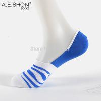 Summer Men's Cotton Socks invisible ultra shallow mouth thin non-slip socks male socks