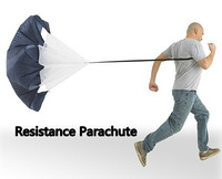 "Brand New 56"" Speed Training Resistance Parachute Umbrella Running Chute & Free Shipping Drop Shipping"
