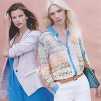2014 European style colorful geometric striped print blouse women chiffon shirt/camisas  femininas mujer ropa blusas de gasa/WtE