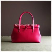 Simple Infinity high quality original designer women tote bag hand bag grace genuine leather  bag cowhide bag