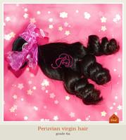 2014 New Funmi Hair Peruvian Virgin Hair spiral Loose Wave Curly cheapest hair extensions virgin human hair weaves Free shiping