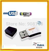 Free Shipping Receptor WIFI 150mbps USB  b/g/N MINI MICRO antena WU720N  5370 chips  Mini Adaptador Wireless Usb Wifi Receptores