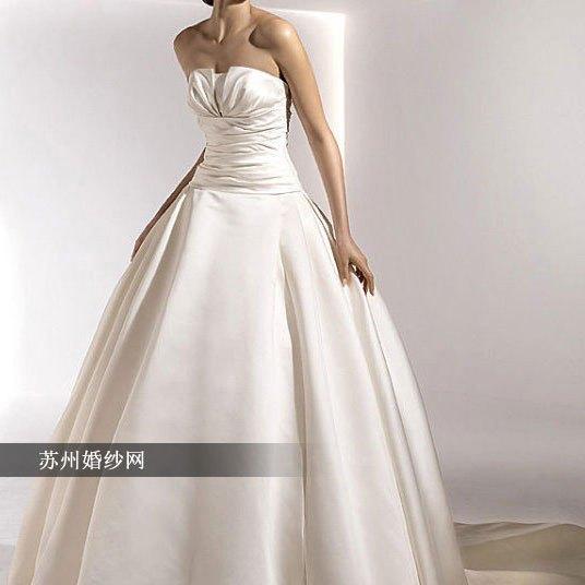 High Quality Custom Brief tube top a princess satin wedding dress luxury train 2013 fashion customize 389(China (Mainland))