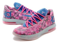 KD 6 Aunt Pearl Basketball Shoes 2014 Kevin Durant VI Floral Mens and Kids For Sale