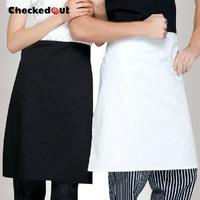 Free  shippingCheckedout NEW ! Cotton aprons hotel restaurant chef aprons kitchen aprons 8303