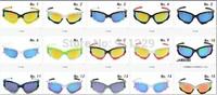 Hot sale!!!!!  Hot Unisex Cycling Sport Sunglass radar lock Path Sport eyewear 15 colors  Lens with box set  sunglasses