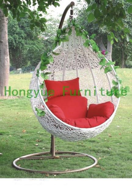 белый открытый ротанговая мебель гамак, качели