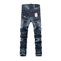 high quality famous brand Jeans, Vintage color fashionable casual jeans for men, Size 28-38 Men's jeans