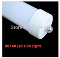 LED TUBE 2400MM 8ft 2.4m 40W single pin FA8S 110V high quality T8 tube SMD2835 high lumens