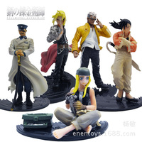 high quality set of 5 10cm fullmetal alchemist pvc action figure figurine toy Pendant toy doll TV&MOVIE