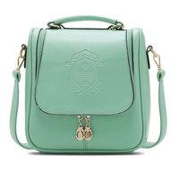 Free shipping 2014 new shoulder diagonal mobile packet with three female students backpack schoolbag travel bag shoulder bag