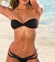 Hot summer beach than gini multi-layer chain chain body clothing