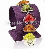 Fashion Bohemia Tennis Chain Amber colorful Friednship Wristband Statement Journey Bangle Bracelet