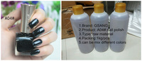 TNT SHIPPING 2014 new arrvial best black color nail art polish lacquer nail polish bulk raw material 1kg packing, OEM and ODM