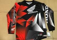 Motorcycle motorbike mortorcross racing jersey clothing long t-shirt off road MTB biking bicycle riding cycling jersey FER