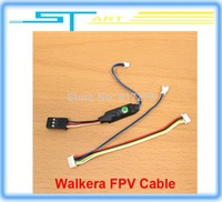 2014 Walkera FP Convertor Connection Cable for FPV System Devo F7 F4 Walkera X350 pro Gopro Hero3+ Rc helicopter Drop sh boy toy
