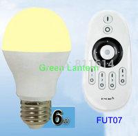 Mi.Light 2.4G Smart phone control E27 6W WiFi Bulb Light Led Color Temperature Dimmable Lamp + wireless Remote controller