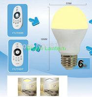 Mi.Light 2.4G Smart phone control E27 6W WiFi Light  bulbLed Color Temperature
