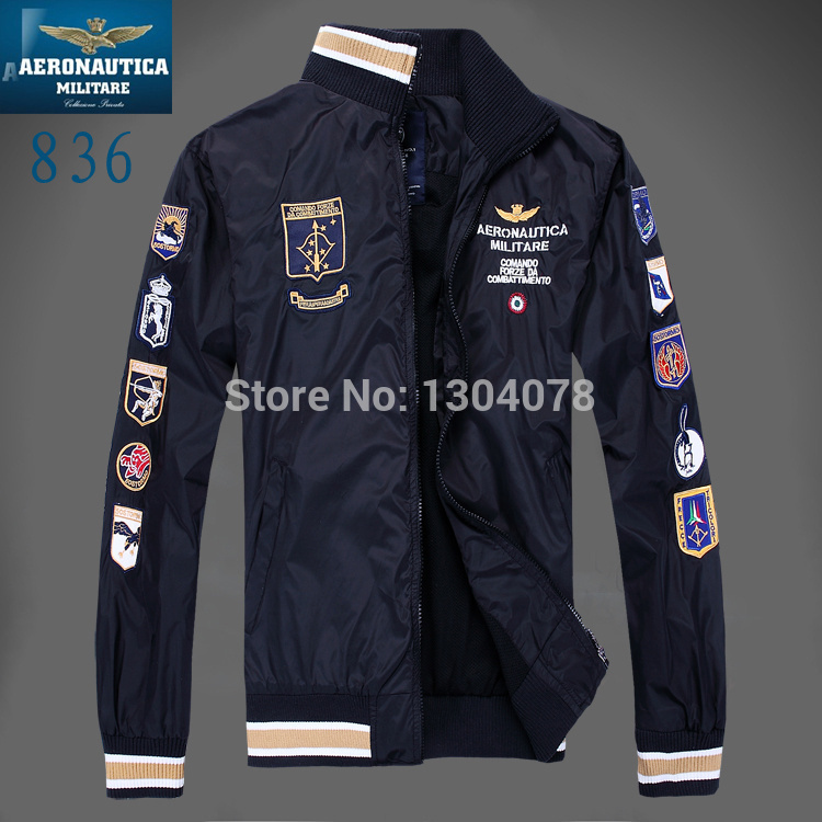 Aeronautica Militare Jackets Sports Men s polo Air Force One jackets Italy brand jackets winter jacket