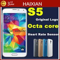 DHL free G900F 2GB RAM 16GB ROM MTK6592 Octa Core Android 4.4 Original Logo under glass GPS mobile phone
