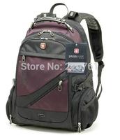 DHL - Swiss Gear Pegasus quality goods - travel business backpack - nylon black hiking backpack - practical backpack SA-1418