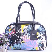 Fashion Style Graffiti Art Bags Famous Brand Sports Bags Leisure Women Bags