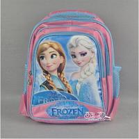 2014 HOT Frozen children school bags learning education Animated cartoon school kids backpacks for kids best gift
